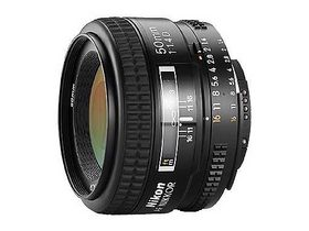 尼康 AF 50mm f/1.4D 回收